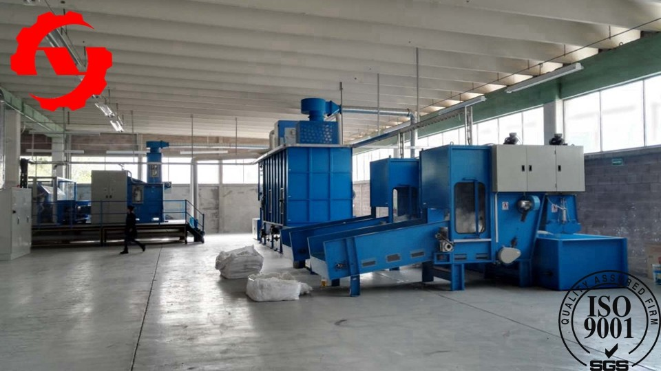 Custom Made Needle Punching Machine For Non Woven Felt Producting