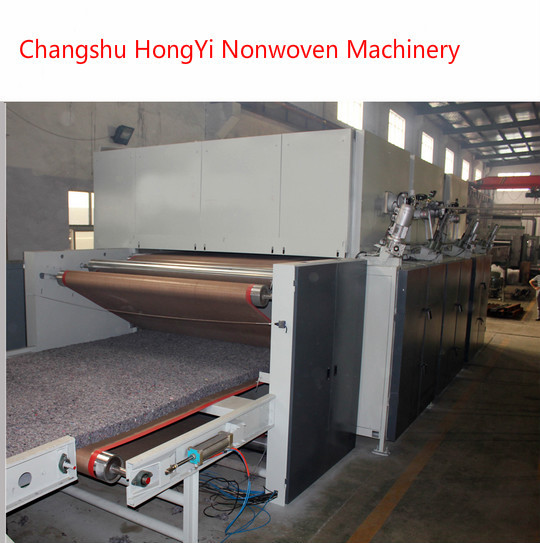2M Stiff Felt Wadding Production Line / Mattress Manufacturing Machines